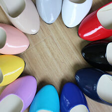 Womens Candy Color Boat Shoes Casual Ballet Slip On Flats Loafers Single Shoes c