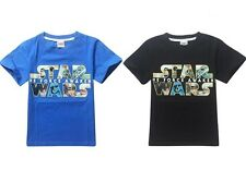 STAR WARS Top Kids Boys Girls Toddlers Cotton Short Sleeve T-Shirts Cozy Costume