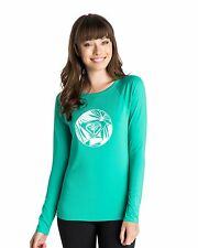 NEW ROXY™  Ladies Classic Long Sleeve Rash Vest Womens Rash Guard Rashsuit MORE