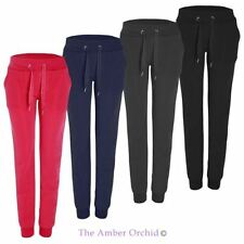 Womens Ladies Loungewear Pants Jogging Bottoms Yoga Fleece Tracksuit Jogger