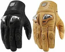 Icon Mens 1000 Collection Retrograde Leather Gloves