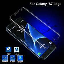 Premium 9H Soft Tempered Glass Film Screen Protector for Samsung Galaxy S7 Edge
