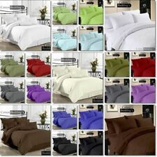 "Hotel Collection Full Size 800-1000-1200TC ""3pc Duvet Cover"" Pillow Set 42-Color"