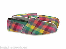 RAINBOW CASUAL SLIP ON CANVAS FLATS LADIES WOMENS ZAPATILLAS COMFY SHOES