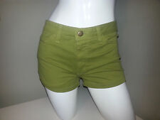 AMERICAN APPAREL Green Sexy SHORTS. Summer Party Sunny Picnic Casual. Size 27