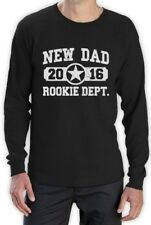 New Dad 2016 Rookie Department Gifts for Fathers Long Sleeve T-Shirt
