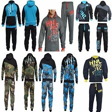 Mens tracksuit sweat gym suit Top Fleece Hooded Full hoodie jogging suits bottom