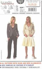 burda 7927 Misses' Jacket, Skirt & Pants 10, 12, 14, 16, 18, 20  Sewing Pattern