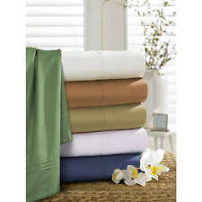 "Sale 600TC 100% Egyptian Cotton Super Soft Solid 4PC Sheet Set 19""Deep CA Size"