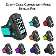 Sports Jogging Gym Running Net Armband Holder Case Cover For Apple iPhone Models