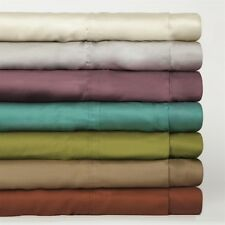 "Real 800TC 100% Egyptian Cotton Ultra Soft Solid 6PC Sheet Set 24""Deep CA Size"
