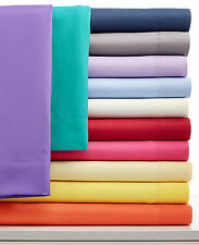 "1000TC 100% Pure Egyptian Cotton Super Soft Solid 6PC Sheet Set 16""Deep CA Size"