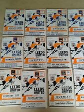 LEEDS UNITED  HOME PROGRAMMES 1969-70 ~ YOU CHOOSE OPPONENTS FREE POST