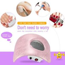 Nail Dust Suction Collector Fingernail Dirt Collection Machine Pink EU/US Y1Y0