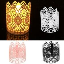 6Pcs Wedding Party Tea Light Holder Paper Lanterns Votive Candle Holders