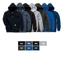 Sweatshirt Hooded Jacket Carhartt K122 Midweight Hooded Zip Front
