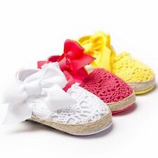 New Baby Toddler Shoes Girl Soft Sole Mary Jane Lace Anti-slip Shoes 0-18 Months