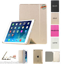 iPad Smart Cover Case Magnetic PU Leather Smart Slim Case Cover for iPad