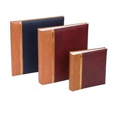 Kenro Grace Traditional Photo Albums Grained Leatherette Classic Cover