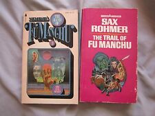 LOT OF 2 FU MANCHU NOVELS