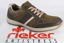 Rieker Men's Lace-up Shoes Sneakers Low Shoes brown new
