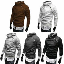 New Men's Cloak Style Sweater Creed Hoodie Cardigan Cosplay Assassin Jacket Coat