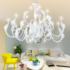 24 Lights Swan Led Pendant Lamp Suspension Chandelier Lights Ceiling Light DP304
