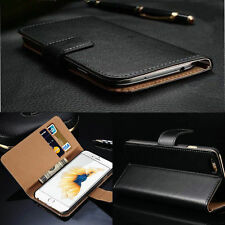 Luxury Genuine Leather Wallet Flip Case Cover Skin For iPhone 5 5s 5SE 6 6s Plus