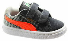 Puma Suede Shades V Kids 2 Strap Unisex Trainers Toddlers Youths 357650 02 D2