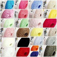 Sale New 1 ballx50gr Soft Warm Angora Cashmere Silk MOHAIR HAND KNITTING YARN B