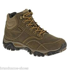 MENS MERRELL MOAB PEAK VENTILATOR WATERPROOF HIKING BOOTS SHOES BROWN  BLACK