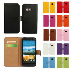 Colorful Genuine Real Leather Wallet Case Cover For Samsung Galaxy/iPhone/Nokia
