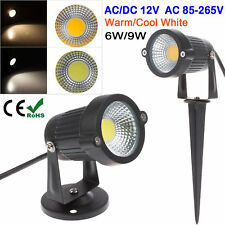 3W 6W 9W COB LED Outdoor Landscape Garden Fence Yard Grass Flood Spot Path Light