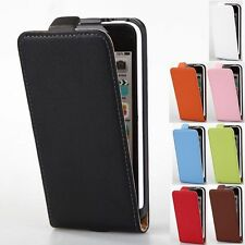 Luxury Genuine Leather Flip Magnetic Full Case Cover Pouch For Apple iPhone 5C