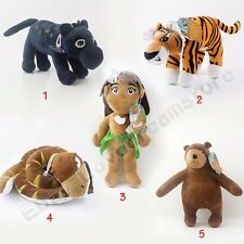 New The Jungle Book Mowgli Baloo Bagheera Shere Khan Kaa 9-23cm Plush Soft Doll