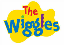 IRON ON TRANSFER or STICKER - THE WIGGLES LOGO - WIGGLES COSTUME T-SHIRT