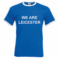 Leicester City Football T-Shirt Retro Premiership Supporters Shirt Ranieri Vardy