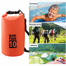 Waterproof Dry Bag 2L/5L/10L/20L Storage Water Sports Boating Canoeing Outdoor
