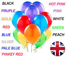 30 to 100 LARGE Helium High Quality Party Birthday any Wedding Balloons baloons