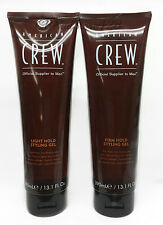 AMERICAN CREW- LIGHT/ FIRM HOLD HAIR STYLING GEL 13.1oz/390mL- Pick Any Kind