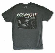 BOB MARLEY AND THE WAILERS CHARCOAL SHIRT NEW OFFICIAL ADULT REGGAE WAILERS JAM