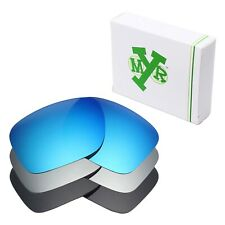 MRY POLARIZED Replacement Lenses for-Oakley Holbrook Blue / Silver/ Black