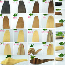 """A Piece of 45""""Wide 100gr 20""""22""""Long Weft Weaving Remy 100% Human Hair Extensions"""