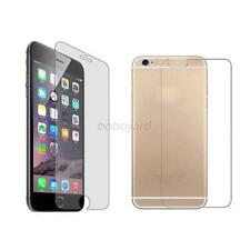 For iPhone 4 4S 5 5S 6 6Plus Front & Back Premium Temper Glass Screen Protector