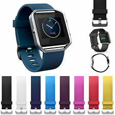 Silicone Wrist Bracelet Replacement Band Strap Watchband For Fitbit Blaze Watch