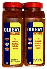Old Bay Seasoning For Crab, Seafood, Poultry, Salads, Meats, Kosher, 24 or 48 OZ