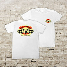Bell Auto Parts Racing Equipment Bell Calif Hot Rat Rod Drag Racing T-Shirt