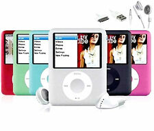 8gb 16gb 32gb Slim Mp3 Player 1.8'' LCD Media Video Game Movie Radio FM MP4