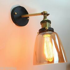 Adjust Amber Glass Ceiling Vintage Retro Chandelier Wall Light Fitting Fixture