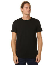 New Globe Men's Goodstock Mens Terry Tee Mens T-Shirts T-Shirt Tops Black